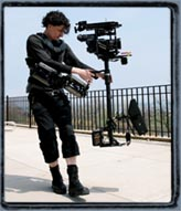 Carl Wiedemann: Steadicam operation with the HVX200