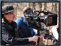 Sony F55 on Steadicam.