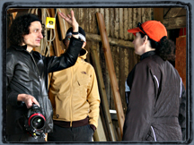 Dance video shoot in 2006, with Steadicam rig in Ann Arbor, Michigan.